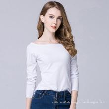 China Neue Frauen Kleidung Herbst koreanische Langarm dünne verdicken Base Shirts