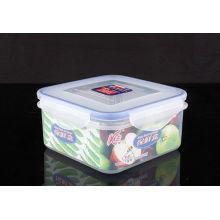 Caixa de almoço plástica de design simples de alta qualidade
