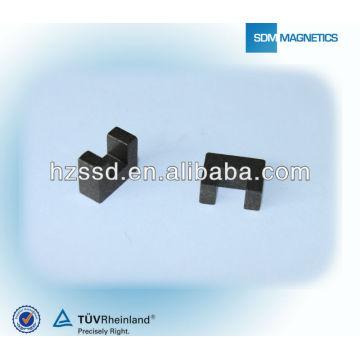 Profesional personalizado permanente forma U Bonded Magnet para la fabricación de automóviles en China