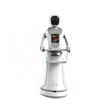 Interactieve levering Food Hotel-robots