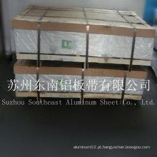 Placas de alumínio de liga de prata 6000series