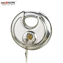 60MM Stainless Steel Disc Shape Padlock