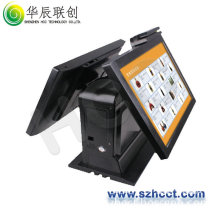 TFT LCD Interactive Touch Monitor Kiosks with Dual Screen