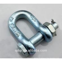 US Type acier forgé chaîne Manille--2150 Manille