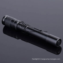 Aluminium Alloy LED Flashlight with Ce, RoHS, MSDS, ISO, SGS