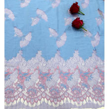Fashion Design Nylon Cotton Polyester Panel Lace Fabric