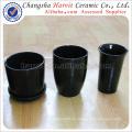 Los potes de cerámica calientes venden al por mayor / el pote de flor llevado de cerámica / los potes y los plantadores de flor de la decoración del jardín