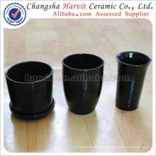 Pots à fleurs en céramique à chaud / Céramique Led Pot à fleurs / Décoration de jardin Pots à fleurs et planteurs