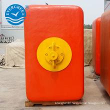 polyethylene marine mooring pick-up/cylinctrical/chain through bouys