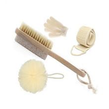 Fabrik persönliche natürliche Bad Set Bad Werkzeuge Haarbürste