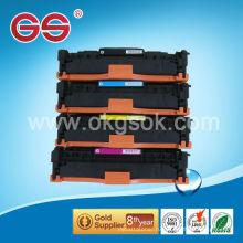 Совместимый тонер CC531A для тонер-картриджа hp с высоким качеством