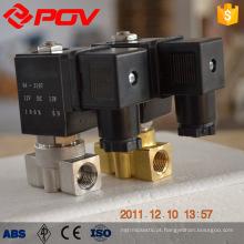 Válvula de solenóide de alta pressão de aço inoxidável POG1-1B 24v