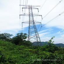 Circuits doubles 220 kV Angle linéaire Tour en acier
