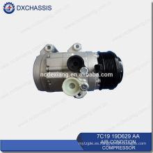 Compresor de CA de alta calidad genuino para Ford Transit V348 7C19 19D629 AA