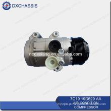 Compressor ac de alta qualidade genuíno para Ford Transit V348 7C19 19D629 AA