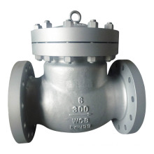 150lb/300lb/600lb Flanged Swing Check Valve with Carbon Steel