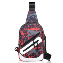 Outdoor Sling Chest Bag Polyester Nylon Backpack Sling Bag Backpack Waist Bag