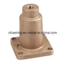 Vivienda de válvula de bronce de fundición para pieza de válvula