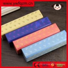 cajas de lápices estacionarias de moda de regalo de niños de madera