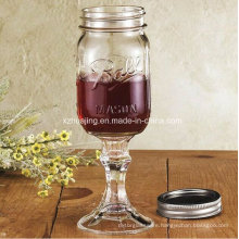 450ml 16oz Clear Empty Ball Mason Jar with Stand