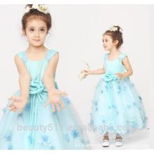 dress designs for girls scoop neckline sleeveless Shoulder-straps baby dresses ED766