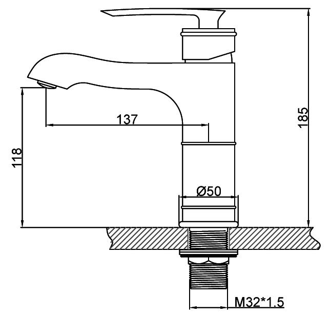 JF-6229-B Dimension Figure