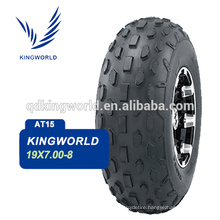 19*7.00-8 8 inch All Terrain Vehicle tire 4PR