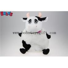 Mochila de vaca de pelúcia, suficiência vaca animal mochila escola de brinquedo