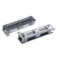 10 Inch 12 Port Wall-Mounted Patch Panel