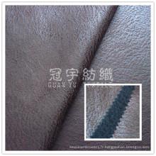 Imitation cuir Home Textile sellerie tissu