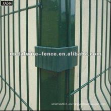 PVC revestido y galvanizado eléctrico todo el tipo diseños poste de la cerca