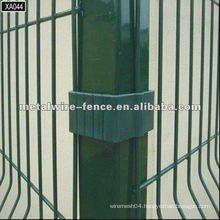 PVC coated & electric galvanized all type designs fence post