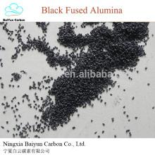 meule abrasive alumine fusionnée noire pour polir la poudre d'alumine