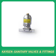 Mini Pneumatic diaphragm valve welded DIN