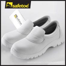 Белая кожа Антистатическая медицинская обувь для женщин