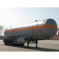 Tri-axle 12.7m Liquefied Gas Transport Semi Trailer