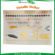 Getbetterlife OEM & ODM disponible autocollant métallique