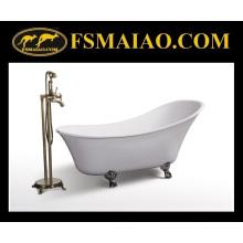Глянцевая акриловая белая акриловая королевская классическая ванна (BA-8307)