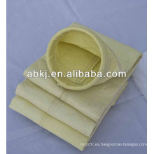Bolsa de filtro de colector de polvo de fibra de vidrio de alta temperatura