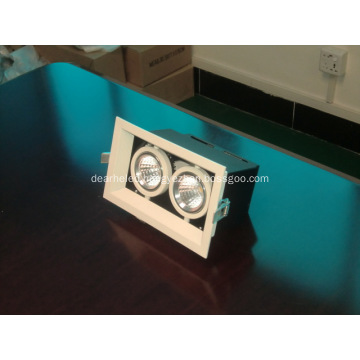 AC90V-260V COB LED Ceiling Light CRI>80 52W square bean Container light