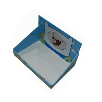 Custom Design Korrugerad Display Presenter Paper Box