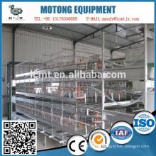 China-Fabrik vollautomatische Geflügel Batteriekäfige
