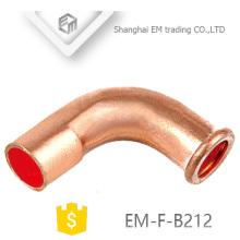 ЭМ-Ф-B212 медные трубы штуцер 90 градусов локоть для кондиционера