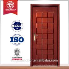 Porta de madeira moderna porta de madeira maciça porta principal design de escultura de madeira