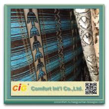 100 полиэстер диван ткань Шенилл синель жаккардовые диван ткань 2015