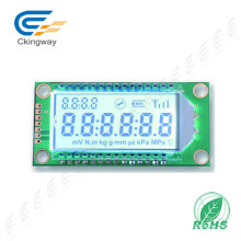 Módulo Transflective Verde-amarelo 128x122 LCD do LCD do caráter do COB de Stn LCD