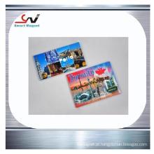 Papel de cobre impresso logotipo promoção promoção pvc ímã