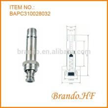 10 мм Нержавеющая сталь с нормально закрытой пневматической головкой соленоида