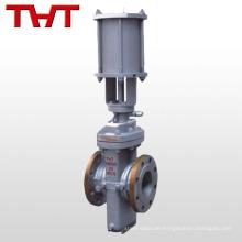 Pneumatisches billiges Flachplattenschieberventil / hydraulisches Plattentor