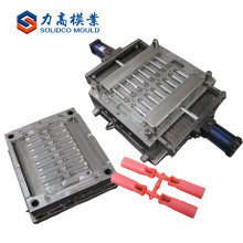 Plastic broom handle end cap injection mould